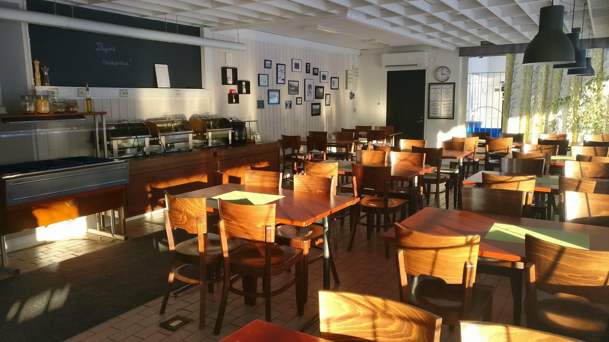 Lounas Salo kahvila sisäkuva