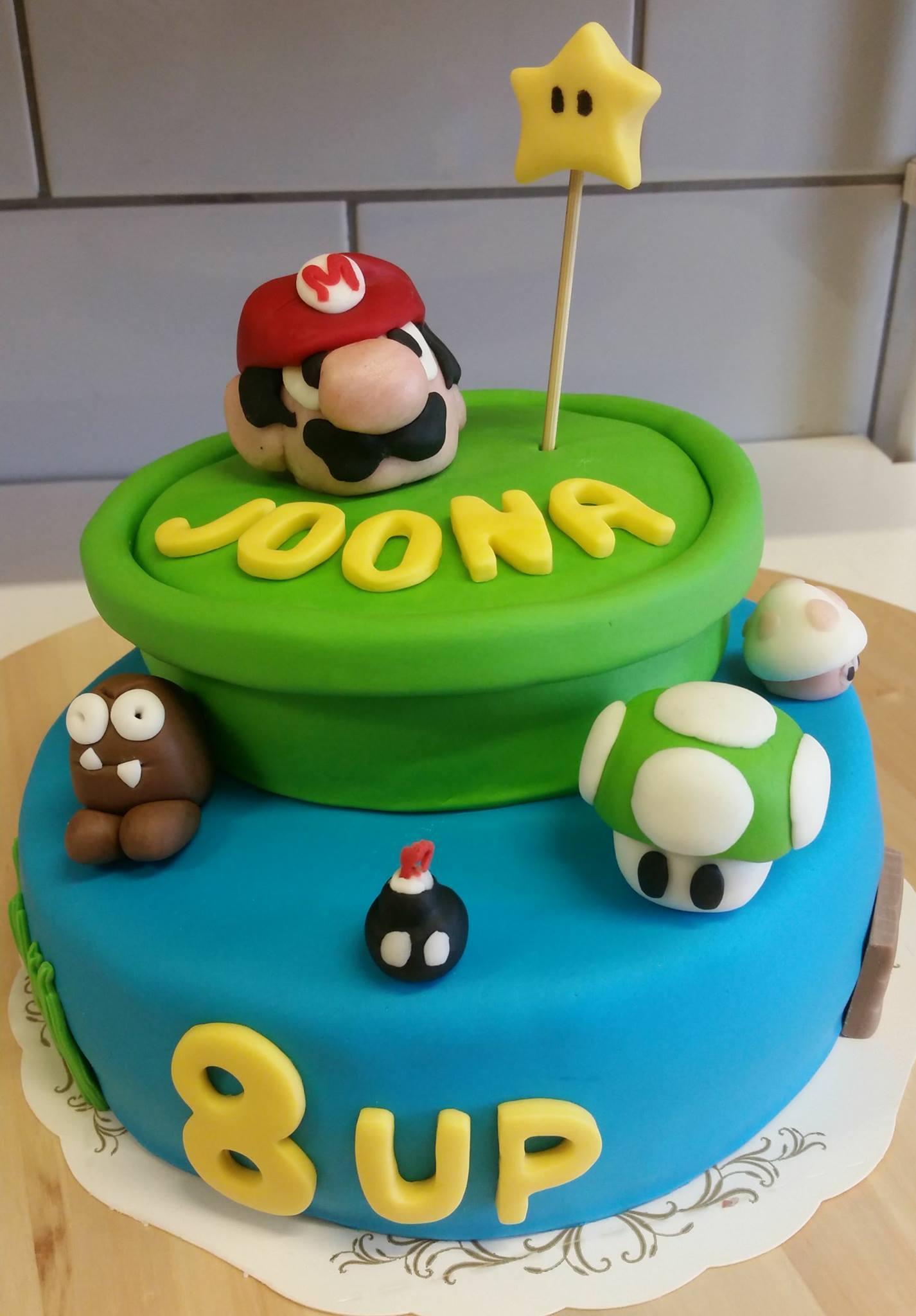 Super Mario kakku pitopalvelu salo